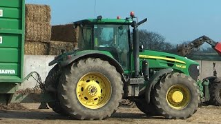 Follow That John Deere 7930! - Hauling Silage with Tri-Axle Smyth.