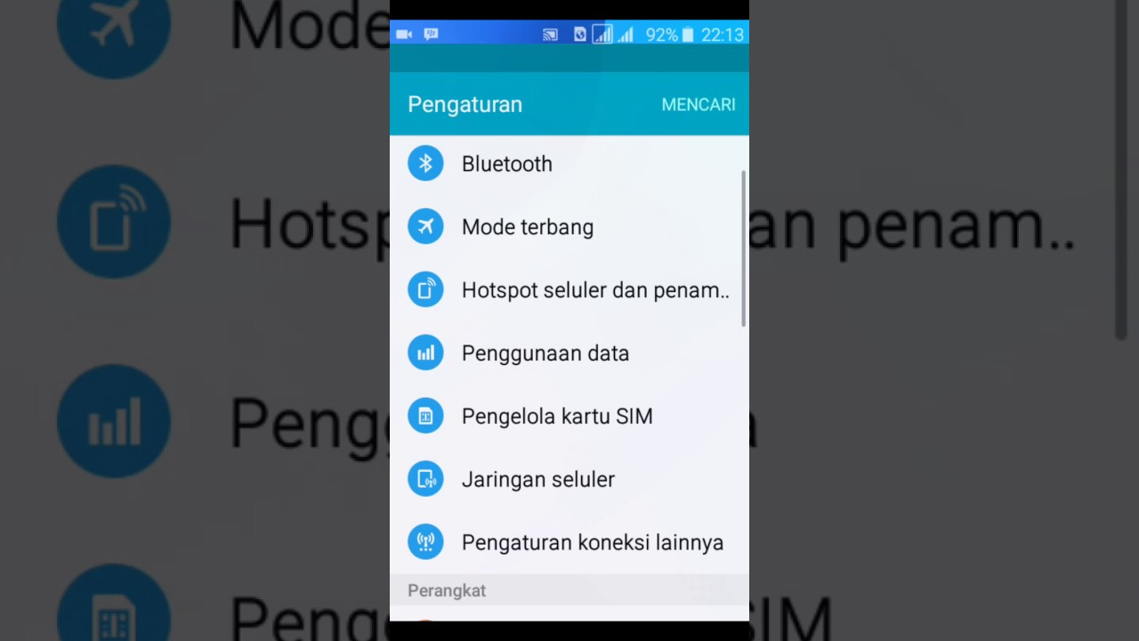 Setting 4g Lte Di Samsung J1 Ace Youtube