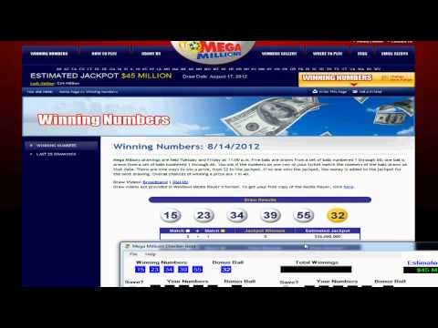 Mega Millions Checker Gold - Lotto Management Software - Demonstration & Review