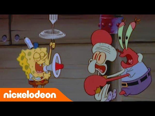 SpongeBob SquarePants | Eerste ontmoeting | Nickelodeon Nederlands