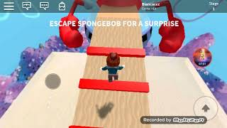 (ROBLOX) I came to stop at zombie is not sponge bob!!! 😲😲😲😬😬😬😮😵😵