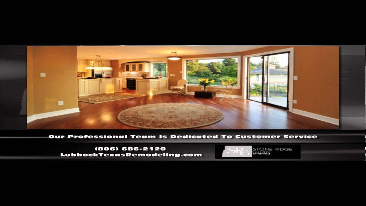 Home Remodeling Lubbock TX Stone Ridge Group YouTube - Bathroom remodel lubbock tx