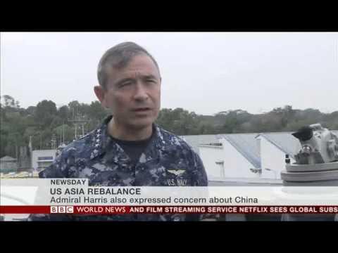 US Asia Rebalance (BBC)