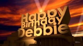 Happy Birthday Debbie