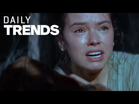 Daisy Ridley Cries Over the New Star Wars Trailer - Daily Fix #Trend