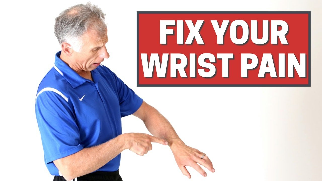 Download 3 Stretches to Fix Your Wrist Pain in Minutes (Including Decompression)