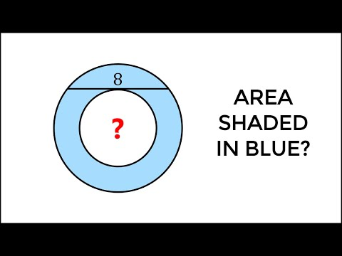 What's The Area Of A Ring (Annulus)? VISUAL CALCULUS Introduction