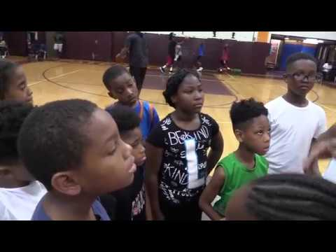 Paterson Recreation Rory Sparrow Tony Murphy Summer Basketball Camp