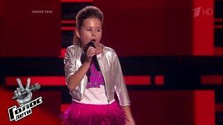 Полина Терехова «Roar» - Слепые прослушивания - Голос.Дети - Сезон 5