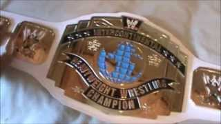 WWE Intercontinental Championship Commemorative Belt ( First On YouTube )