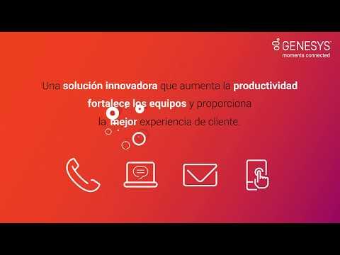 Descubra cómo PureCloud simplifica las relaciones con sus clientes (Demo)