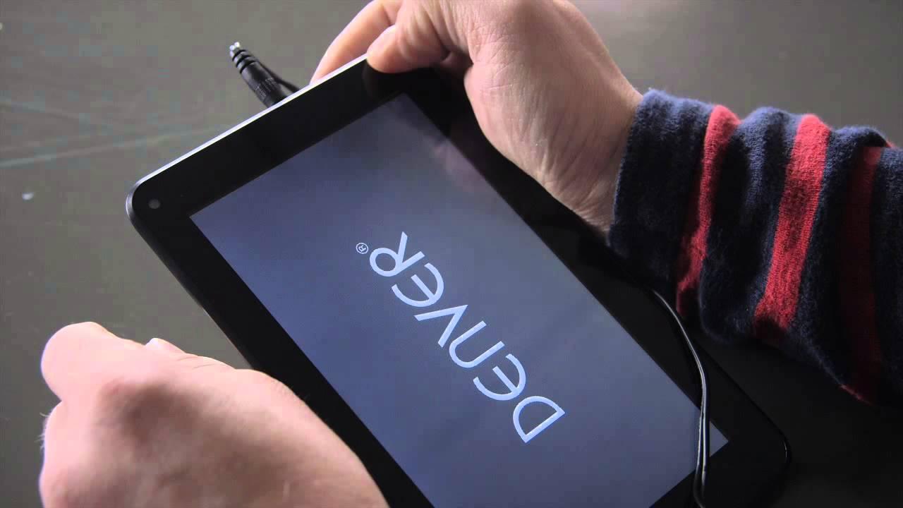 Easy Hard Reset Chinese Tablet's Denver eeeZe Storex