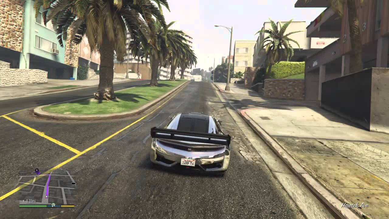 Grand Theft Auto V Zentorno Spawn Location