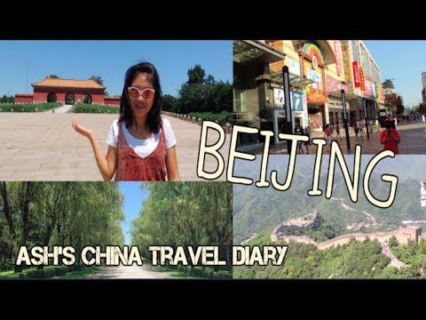 Traveling Beijing 北京, China: Great Wall, Ming Tombs, Wangfujing | China Travel Diary