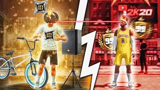 TOP REP ALL STAR 3 PULLED UP ON ME AT PARK! #10 TOP REP vs POWER DF BEST BUILD! NBA 2K20
