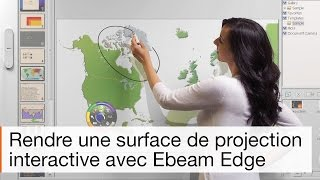 Comment fonctionne le tableau interactif mobile eBeam Edge ?
