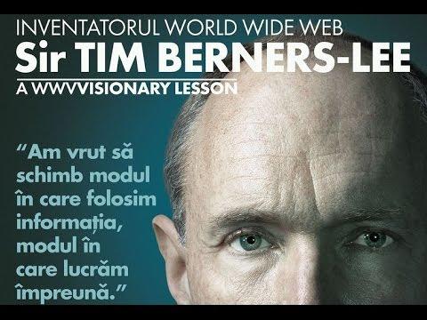 "Sir Tim Berners-Lee In Romania ""Romanian Academy 12.11.2015"""
