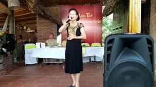 Hát văn Chân quê Nghệ sĩ nhân dân Kim Liên