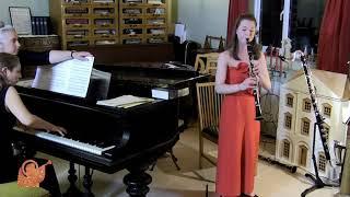 Clarinet Concerto, 1st movement- Aaron Copland- Jenni Moss & Catherine Milledge