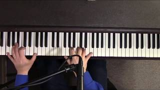 Come Rain or Come Shine - Ray Charles/Frank Sinatra Cover - Jazz piano/vocal