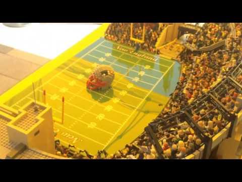 LEGO® Replica of Gillette Stadium