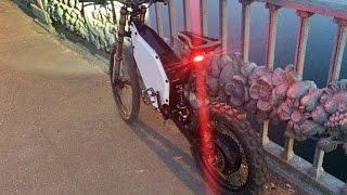 Электровелосипед 4000W. Вечерняя прогулка по Киеву.