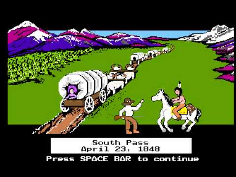 "silent livestream of ""Oregon Trail"" (PC) - ""Targeted"" characters edition"