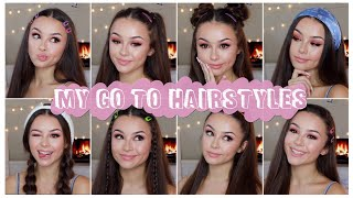 8 easy aesthetic hairstyles // autumnal soft girl