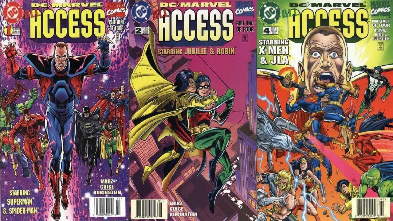 Image result for access dc vs marvel