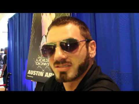 TNA's Impact Wrestling superstar Austin Aries describes being a vegetarian