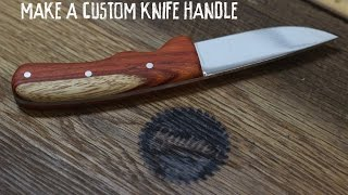 Download Making A Custom Handmade Knife Kit Handle Mp3 and Videos