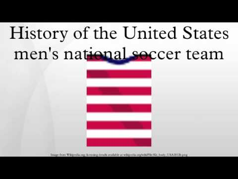 History of the United States men's national soccer team