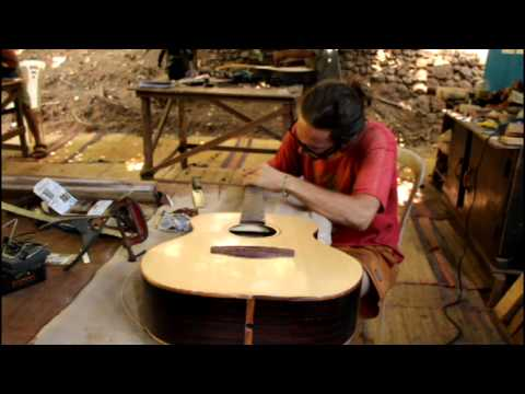 jungleguitars guitar building course at the workshop in  goa india
