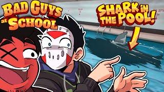 SHARK PRANK & HULK BULLY - Bad Guys at School