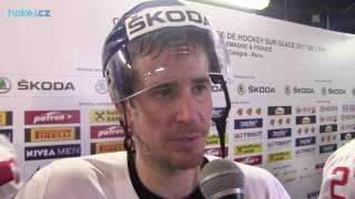 Roman Červenka po zápase Česko - Švýcarsko 1:3