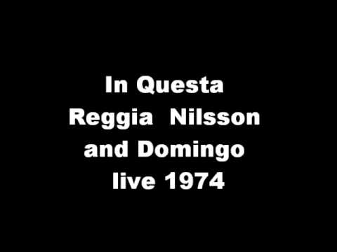In Questa Reggia (Turandot) Placido Domingo and Birgit Nilsson live - Great High C at the end!