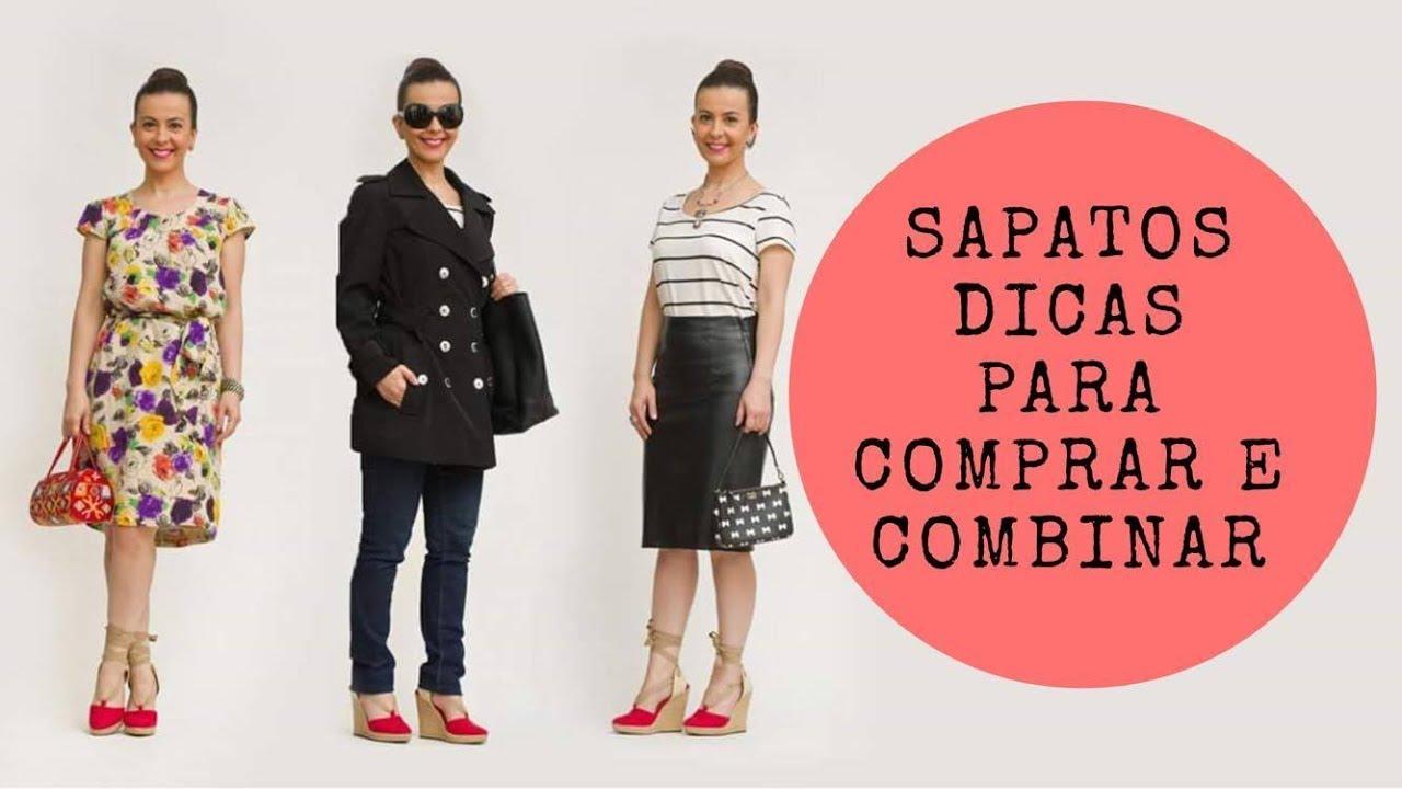dbbfc6adb SAPATOS! Dicas para COMPRAR e combinar (com 24 LOOKS!) - YouTube