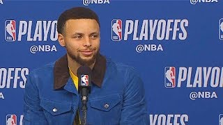 LeBron James Gives Stephen Curry Respect After Game 6! Warriors vs Rockets Game 6