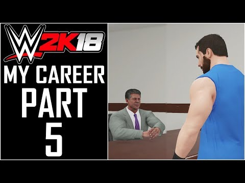 "WWE 2K18 - My Career - Let's Play - Part 5 - ""Becoming A Company Man? (RAW Debut)"""