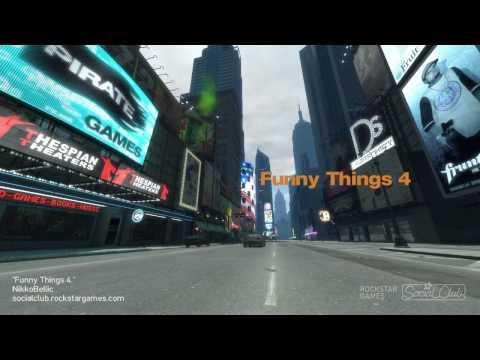 GTA 4 - Funny Things 4 HD (720p)