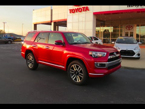 2016 toyota 4runner limited full tour start up at massey toyota youtube. Black Bedroom Furniture Sets. Home Design Ideas
