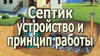 Устройство септика для дома и дачи Работа септика для дома(, 2016-05-12T04:55:04.000Z)