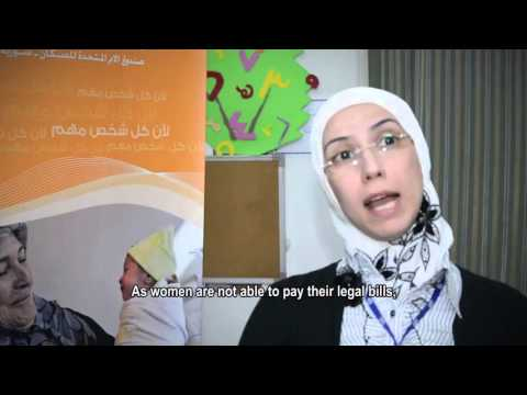 UNFPA supports Women inside Syria