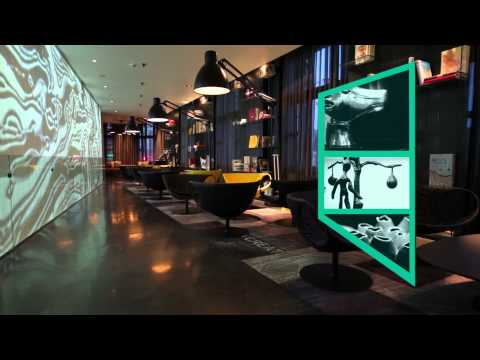 art'otel amsterdam - hotel video