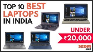 ✔️ Top 10 Best Laptops under 20000 in India 2019 - Reviews with Prices