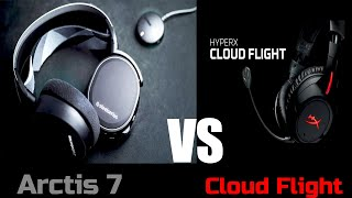 SteelSeries Arctis 7 vs HyperX Cloud Flight