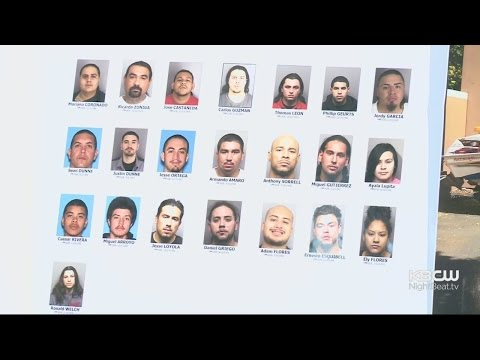 Massive Contra Costa County Gang Bust Linked To Highway Shootings