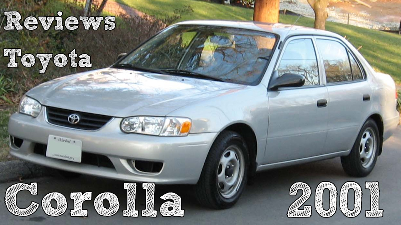 Reviews Toyota Corolla 2001 Youtube