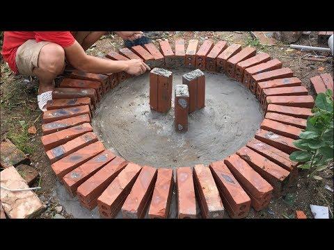 GARDEN DECORATION IDEAS - DIY- Cement craft ideas смотреть онлайн в hd качестве - VIDEOOO