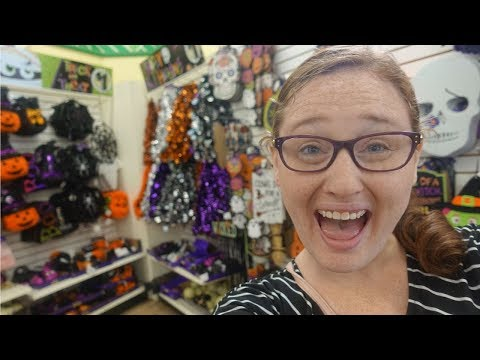 FALL & HALLOWEEN SHOPPING AT DOLLAR TREE || Shop With Me 2019